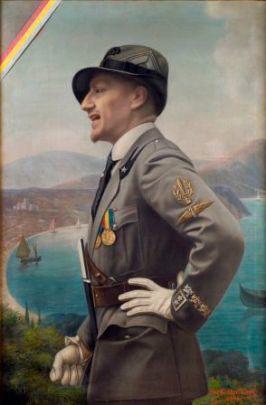 Enrico_Marchiani,_Ritratto_di_Gabriele_d'Annunzio_in_uniforme_da_Ardito._Olio_su_tela